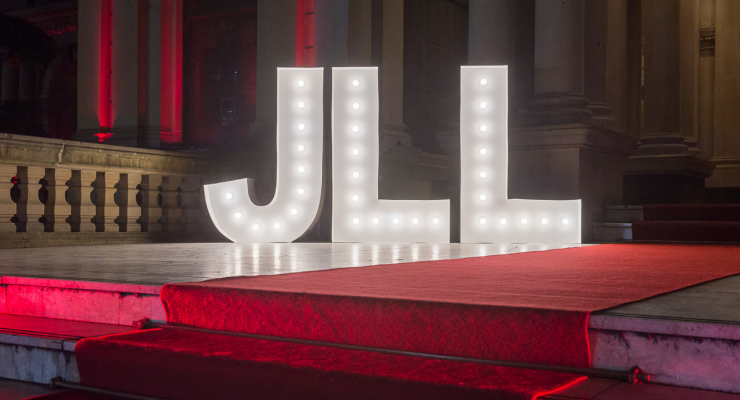Red Carpet with light up letter