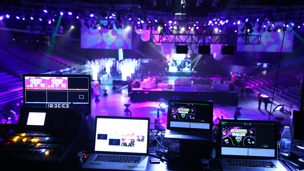 Event Production Behind the scenes