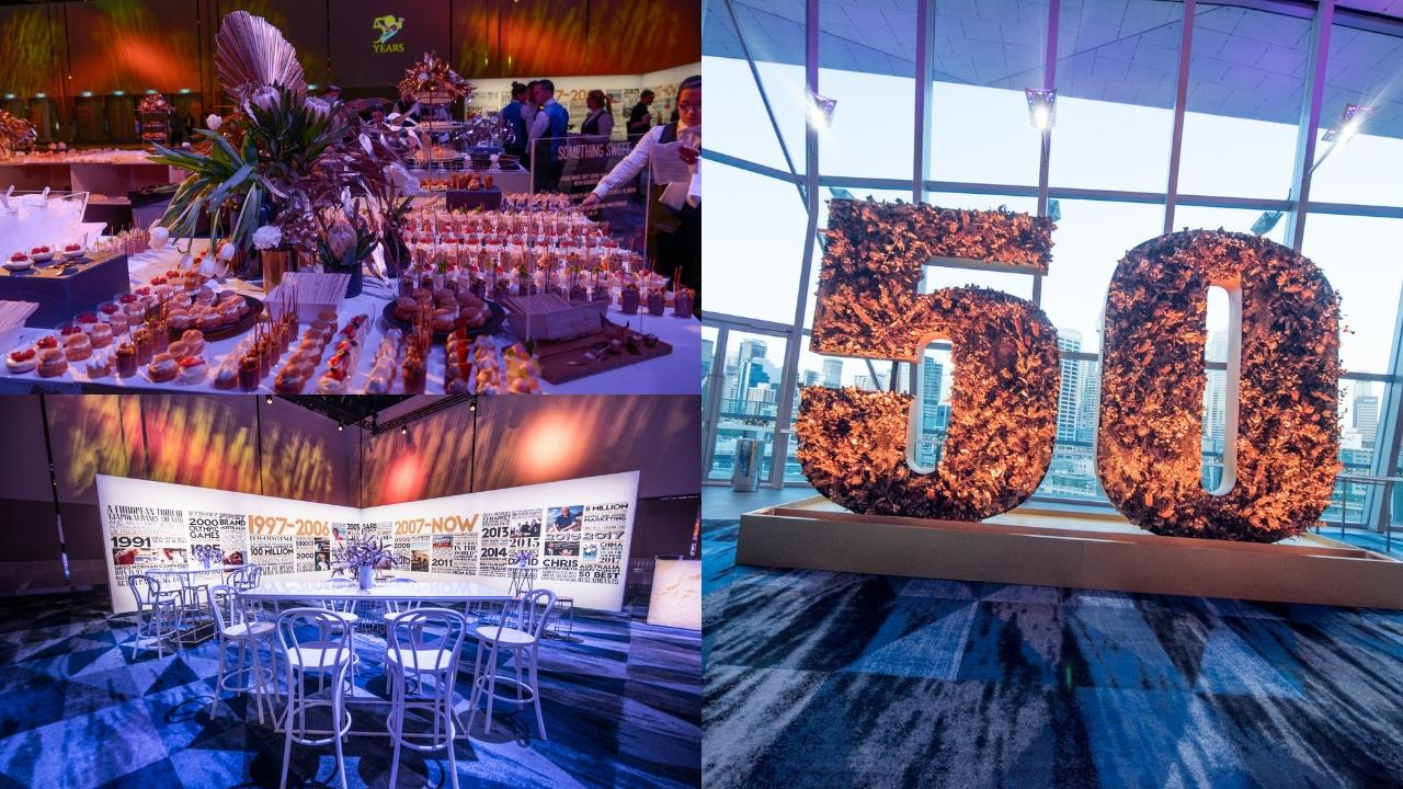 Australia Tourism 50th event