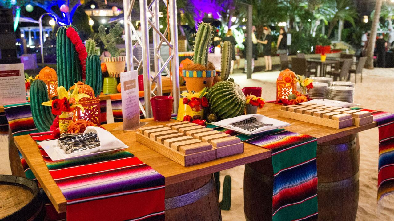 mexican festive table