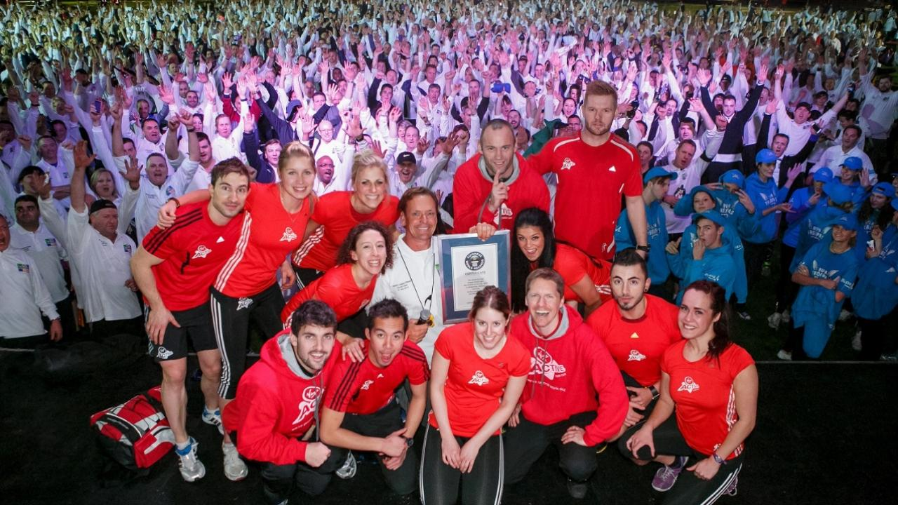 Virgin Active Team Photo